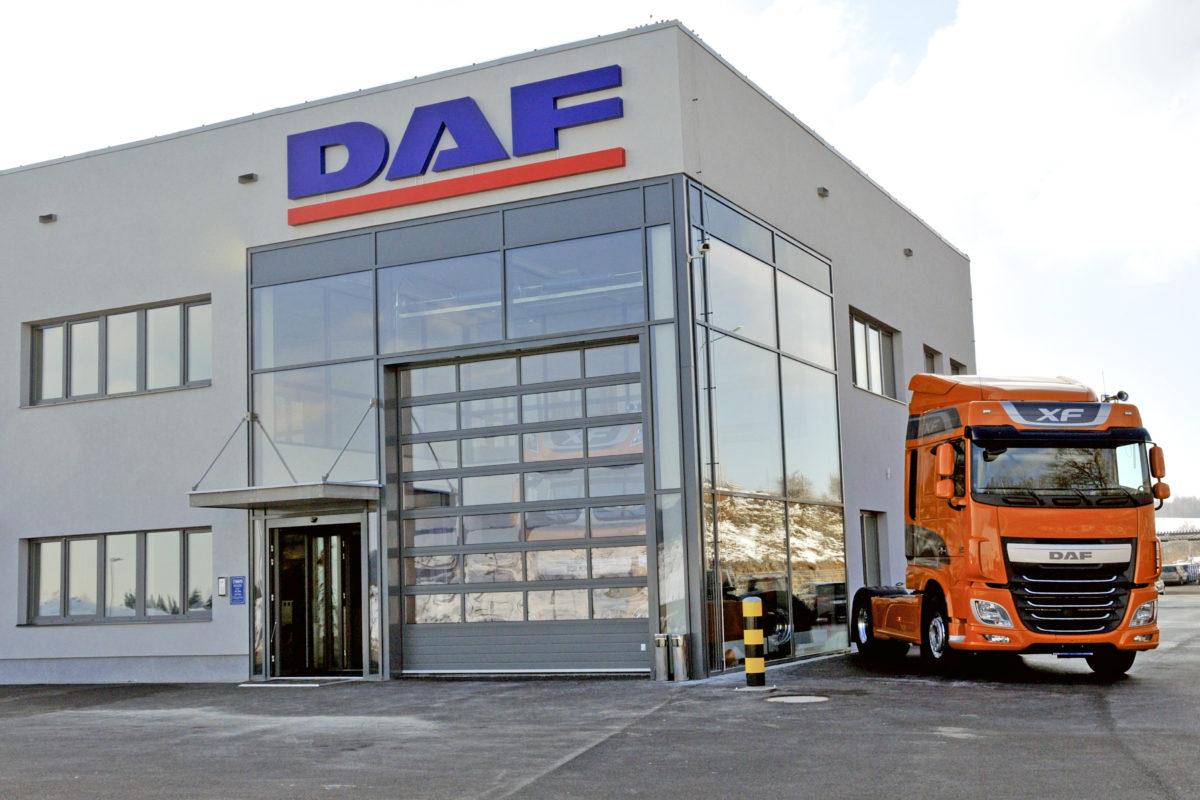 Servisní a prodejní centrum DAF v Jeřmanicích
